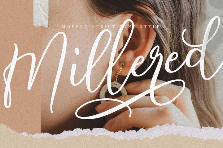 Millered - Beauty Elegant Script