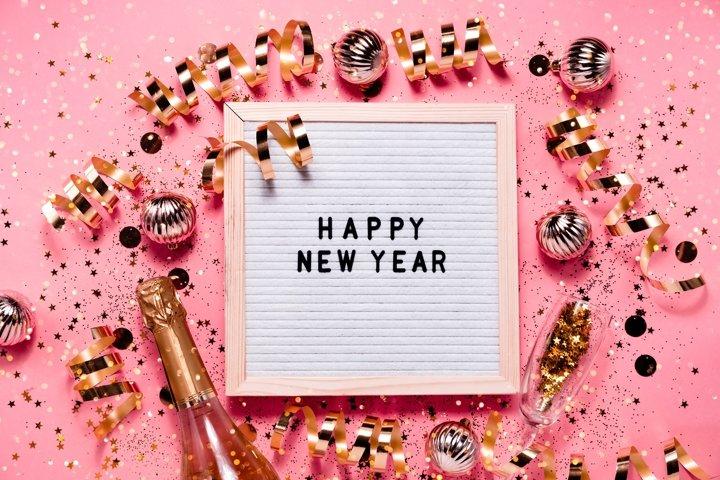 MEGA BUNDLE New Year festive background