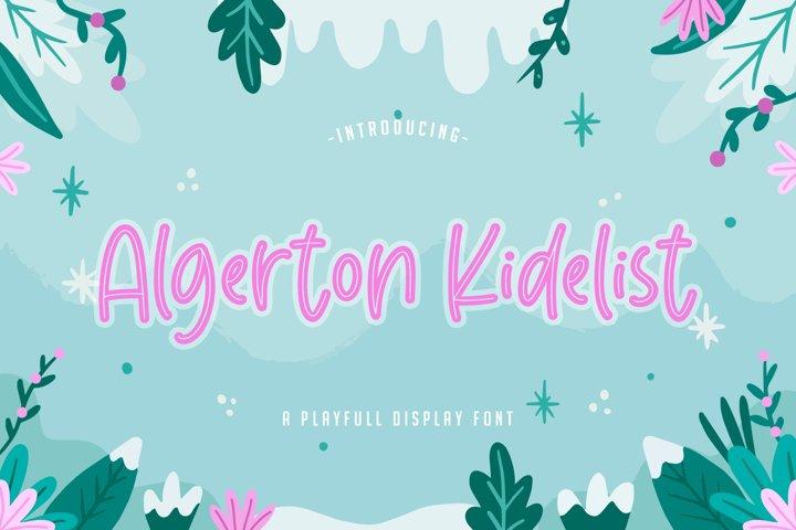 Algerton Kidelist