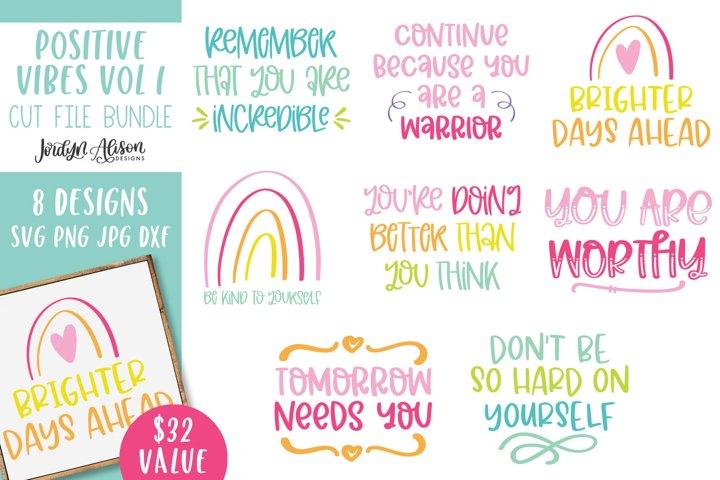 Inspirational Quotes Bundle 1, SVG Bundle