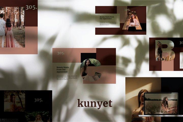 Kunyet - Keynote Template