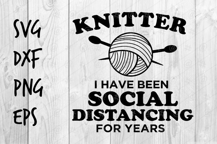 Kintter I have been Social Distancing for years SVG