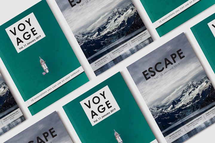 10 Travel Magazine Front Covers