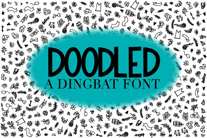 Doodled - A Dingbat Font