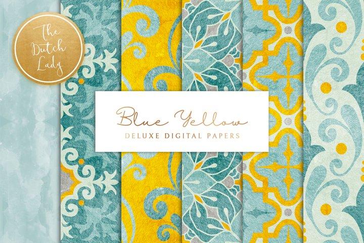 Digital Backgrounds & Papers - Ornamental Patterns
