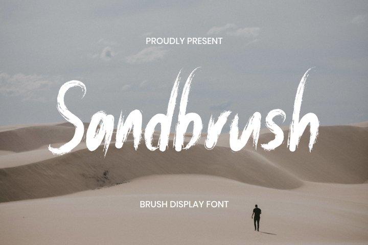 Sandbrush Font