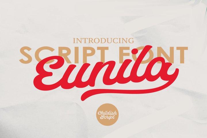 Eunila Script