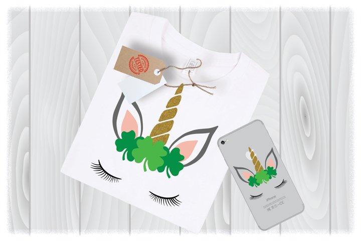 Unicorn SVG Files for Cricut Designs | St Patricks Day SVG