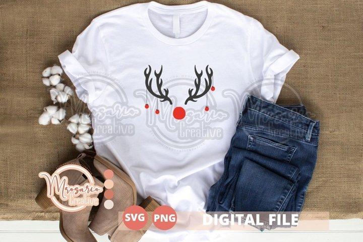 Merry Christmas Svg cutfile, Reindeer Christmas 2020 Svg
