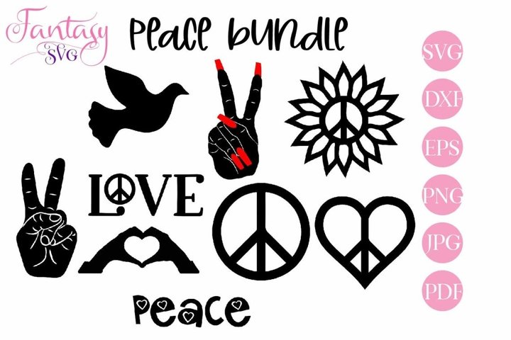 Peace SVG Bundle