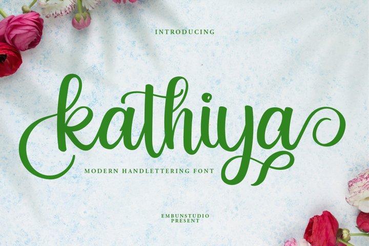 Kathiya Script