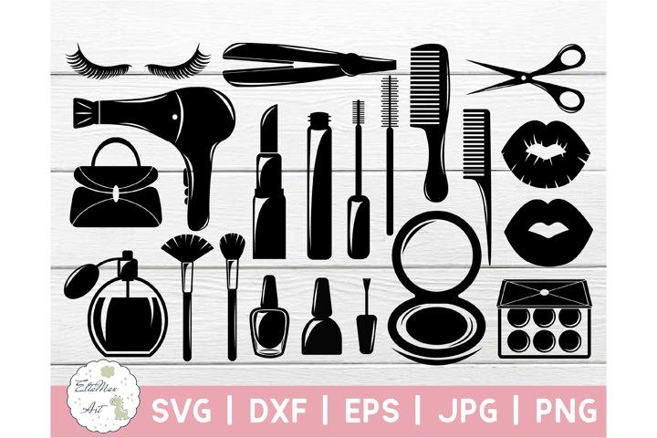 Makeup SVG Cut files, Beauty Svg, Makeup SVG bundle, Makeup