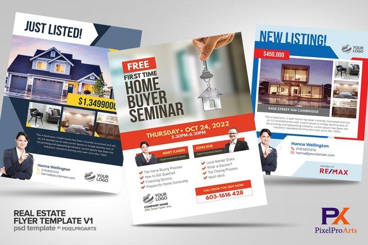 Real Estate Flyer Template Bundle V1