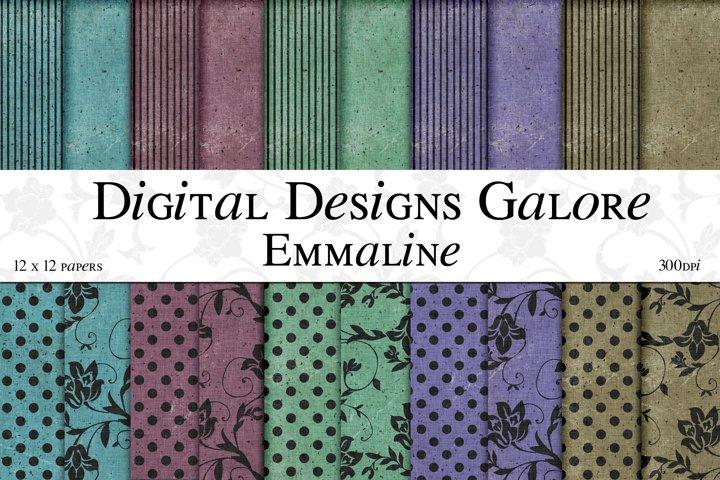 Emmaline Digital Paper Pack