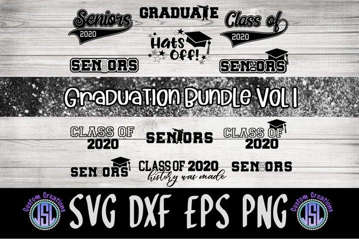 Seniors 2020 Graduation| Bundle Set of 12 | SVG DXF EPS PNG