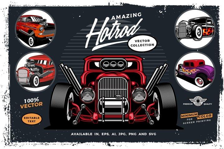 Hotrod Vector cars