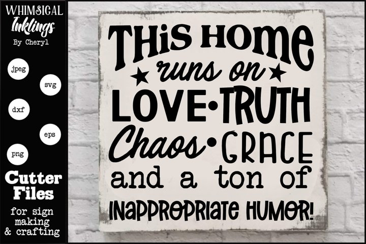 Love and Truth SVG-Alternate Spelling Included