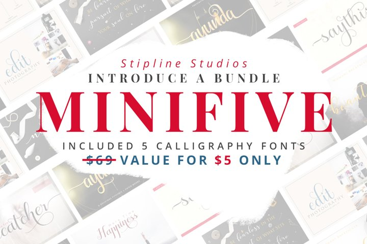 MINIFIVE - LIMITED TIME OFFER