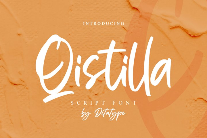 Qistilla- Casual Handwritten Font