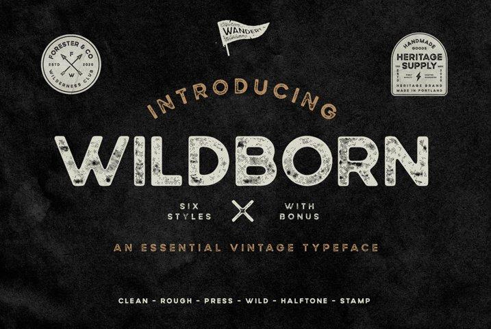Wildborn Vintage Sans