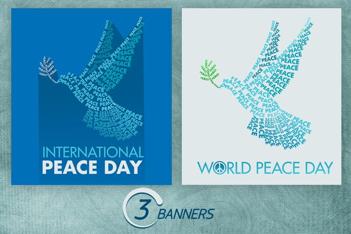 International Day Of Peace Flyers/Posters