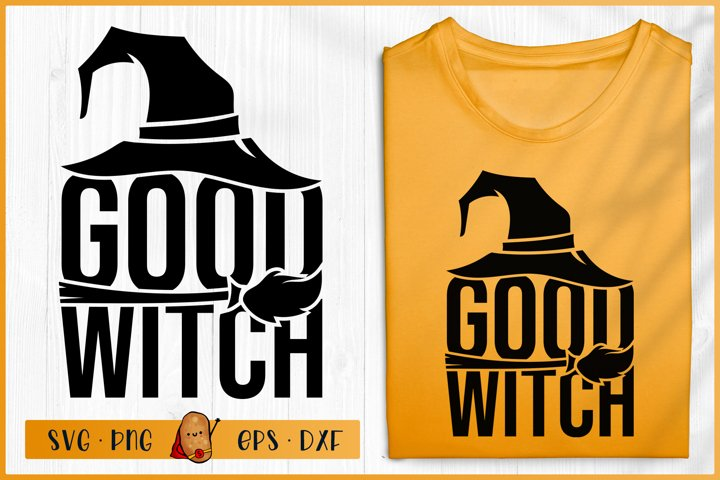 Halloween SVG - Good Witch SVG - Witch SVG
