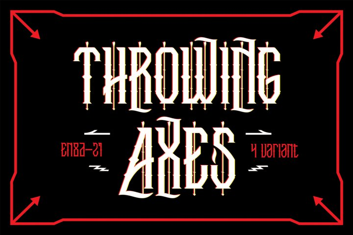 Trowing Axes