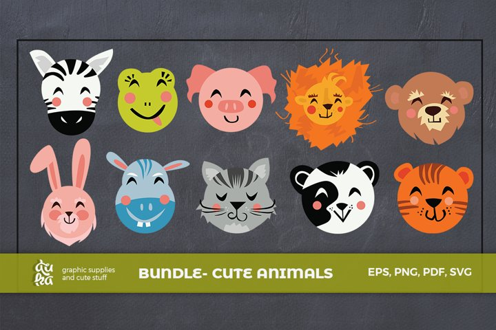 BUNDLE- Cute animals characters
