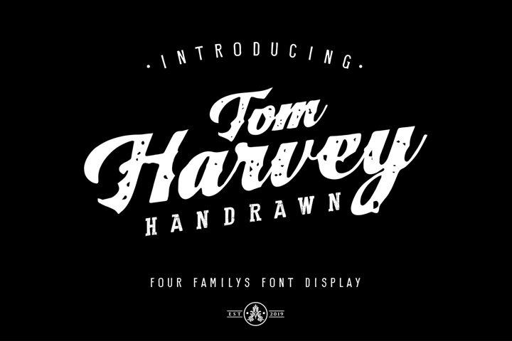 Tom Harvey Quartet Display Font