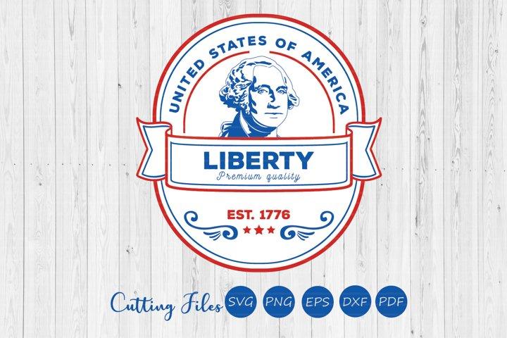 Premium quality liberty | 4th of July | SVG Cut files |