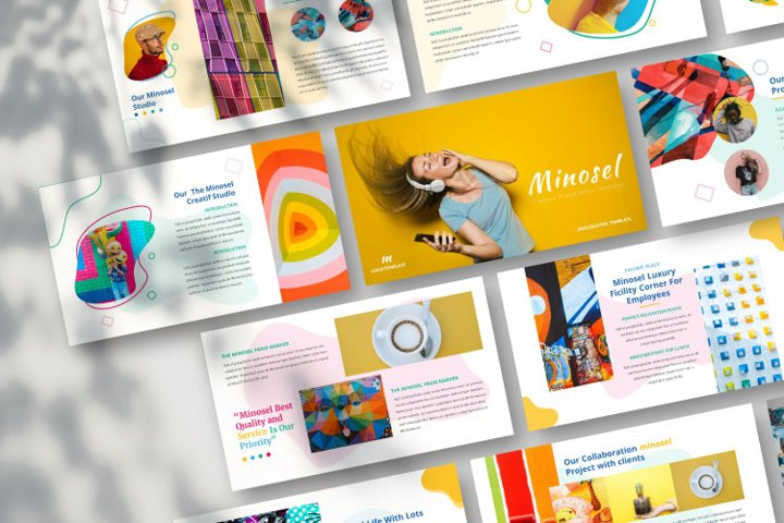 Minosel Google Slides Template