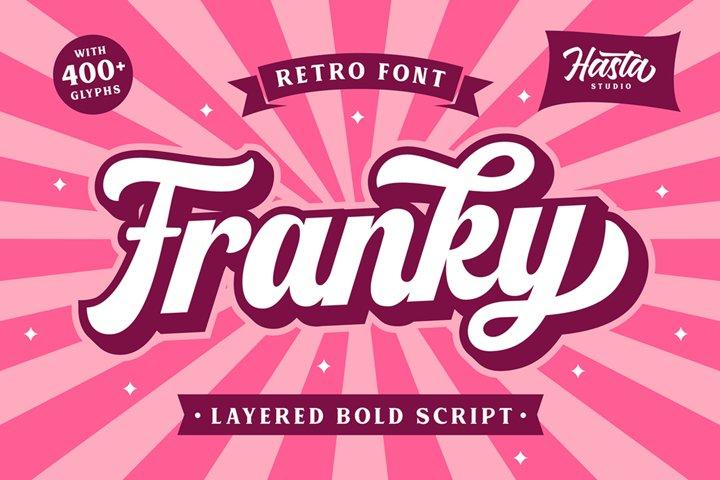 Franky - Retro Font