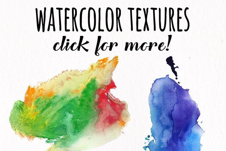 Watercolor Textures - card edition - Free Design of The Week Design13