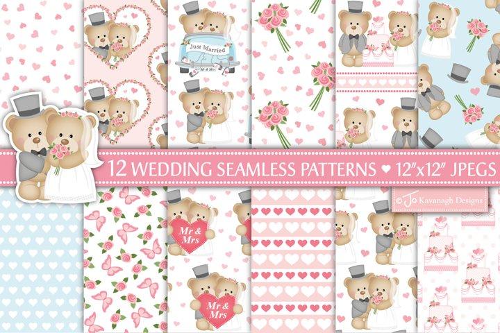 Wedding Digital Paper, wedding patterns, wedding -P39