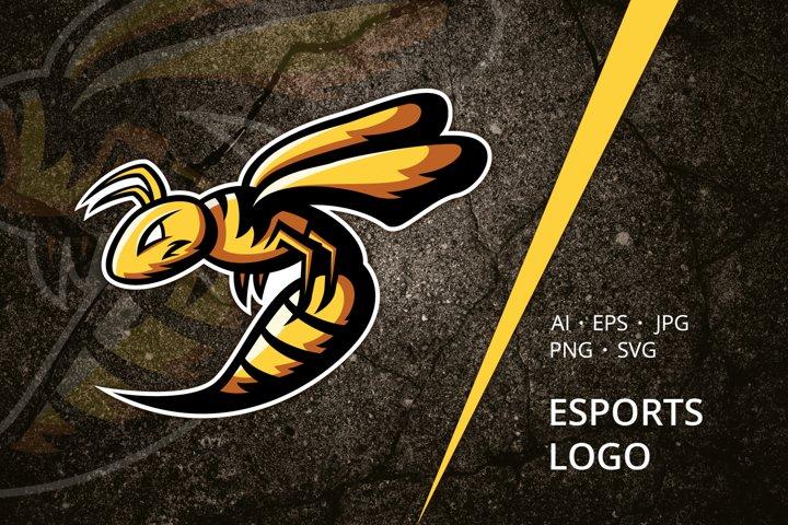 Wasp Esports Logo Template