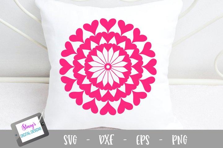 Download Free Svgs Download Mandala Svg Heart Mandala Svg Free Design Resources
