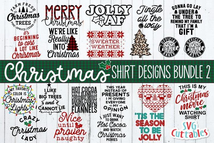 Christmas SVG Shirt Bundle 2