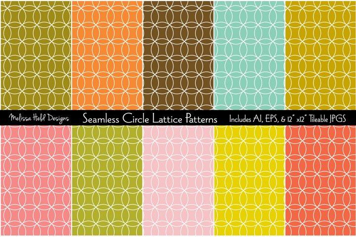 Seamless Circle Lattice Patterns