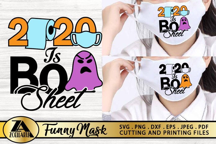 2020 Funny Mask SVG PNG EPS DXF Face Mask SVG Halloween Mask