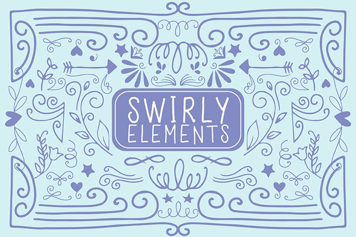 Swirly Elements