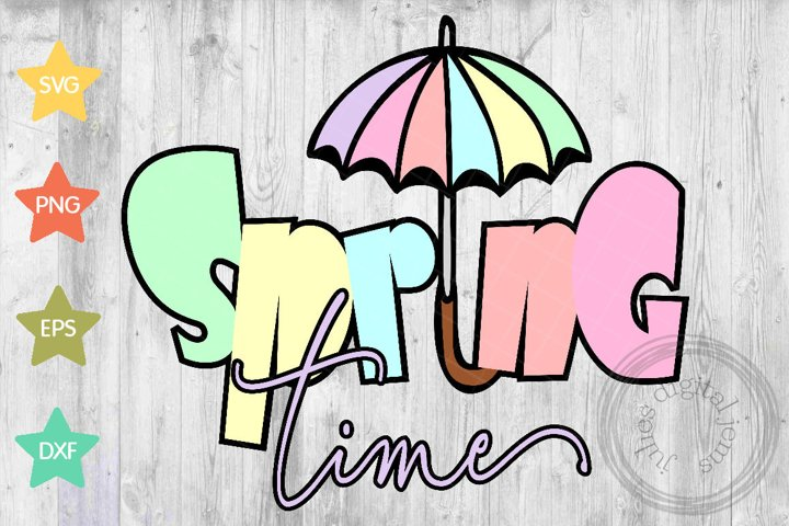 Spring Time SVG, by Julies Homemade Jems