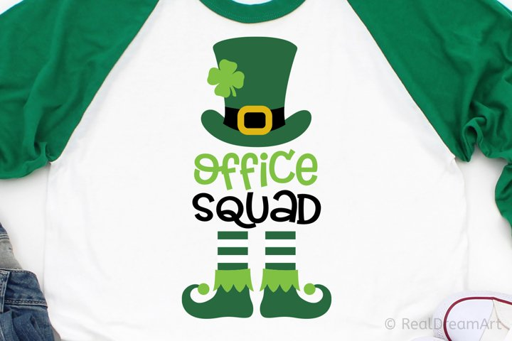 Office Squad with Leprechaun SVG, DXF, PNG, EPS