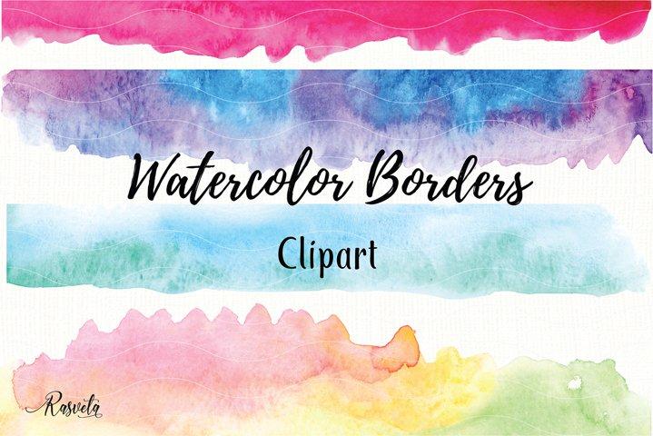 Watercolor Borders Clipart/1