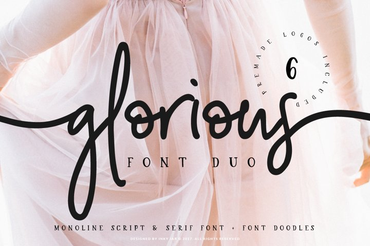 Glorious Font Duo Extras
