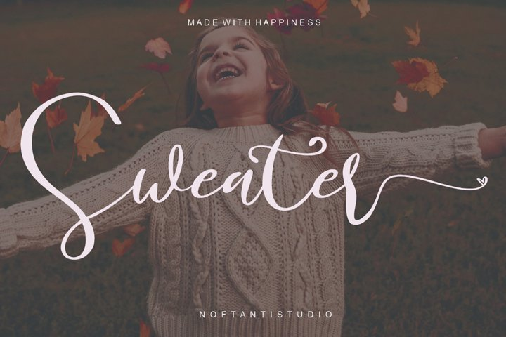 Sweater - WEB FONT