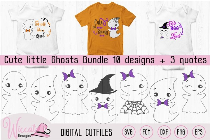 Cute little ghost bundle, scanncut, cricut, vinyl craft