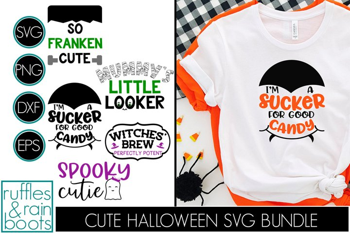 THE CUTE HALLOWEEN SVG BUNDLE - PERFECT FOR KIDS AND BABIES