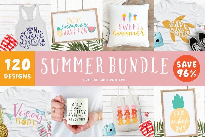 Summer Bundle Svg   120 Ultra Mega Summer SVG Bundle