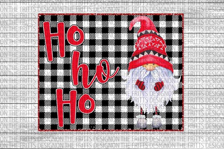 Ho Ho Ho gnome digital design