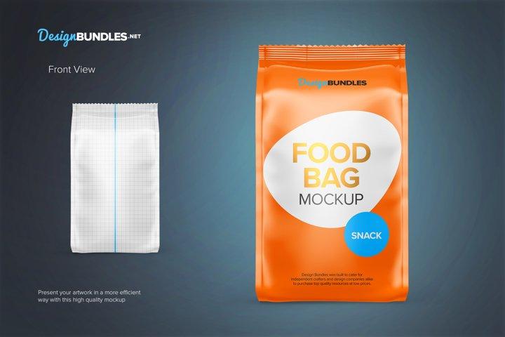Food Bag Mockups example 1